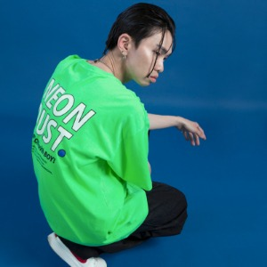 [ND] 19SM 1/2 T-Shirt (Neon Green)