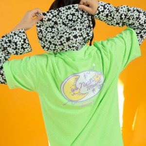Logo 1/2 T-shirt (Neon Green)